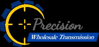 Precision Wholesale Transmission Logo